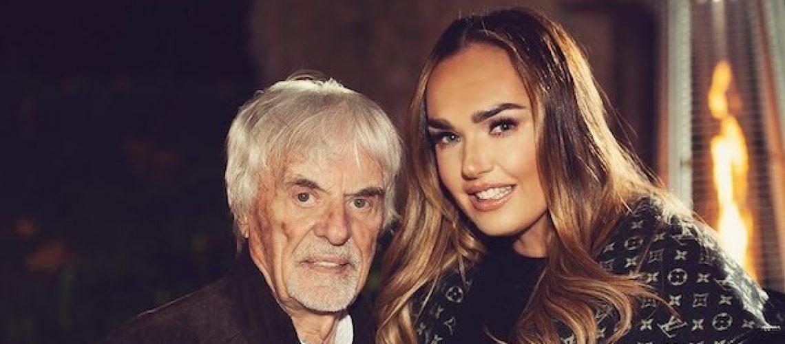 Bernie Ecclestone en dochter Tamara - Instagram Tamara Ecclestone