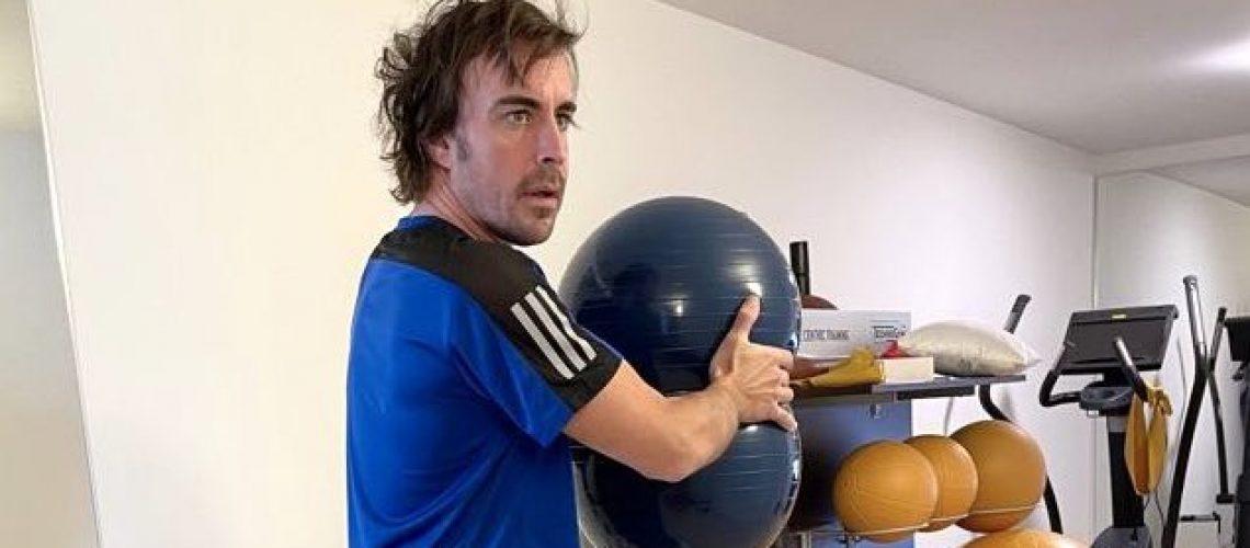 Fernando Alonso (Twitter)