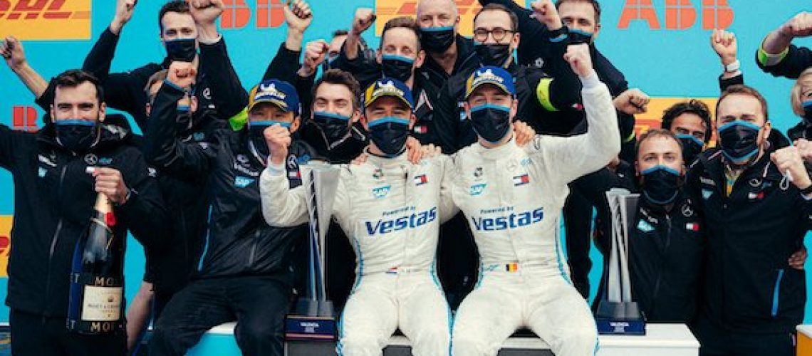 Mercedes Formule E team